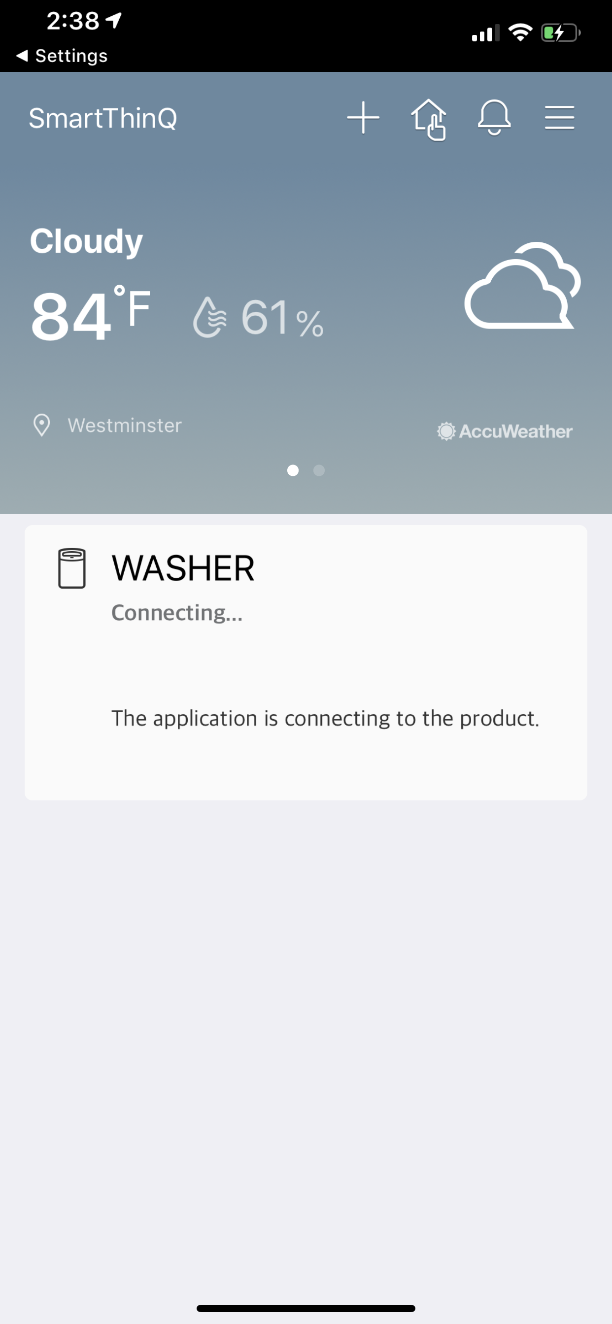 Washer and Dryer will not connect to app — LG - Ask the